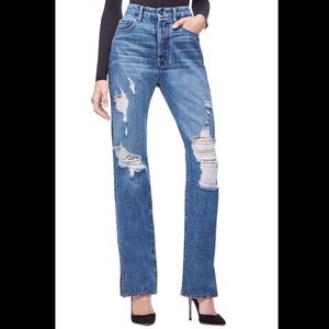 good american good boy jeans size 16 DR